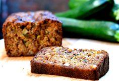 Zucchini & Walnut Bread  #justeatrealfood #everylastbite