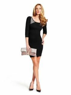 GUESS by Marciano Women's Bretina Sweater Dress