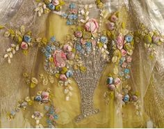 Evening Gown Boue Soeurs Paris c. 1923-1925 silk rose