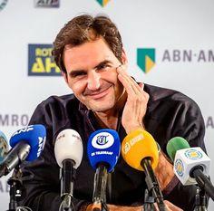 Conférence de presse de Roger Federer - 12 février 2017 - ATP 500 Rotterdam - Rotterdam Ahoy