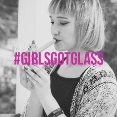 Our #girlsgotglass, do you?