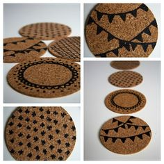 Piece of a Cookie: DIY coasters