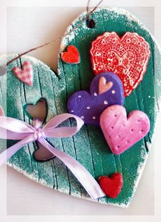 Salt Dough Heart