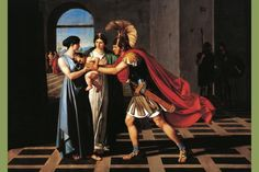 The stories and legends of Andromache, wife of Hector of Troy, and a figure in plays by Euripides and many others.