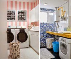 Coitadinha... Quase nunca tem vez na decoração da casa!     O post de hoje é pra você que resolveu olhar com mais carinho para a sua área ...