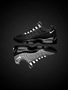 "nike air max 95 premium tape reflect 02 ""Sport with Style"" The Athlete's Foot - Billings Nike Free Shoes, Nike Shoes Outlet, Running Shoes Nike, Nike Air Max, Air Max 95, Nike Outfits, Me Too Shoes, Men's Shoes, Louboutin Shoes"