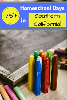 Homeschool Days in Southern California to help you plan your next field trip adventure. Homeschooling In California, Homeschool Kindergarten, Los Angeles Area, Community Events, School Fun, Southern California, Elementary Schools, Teacher Education, Learning