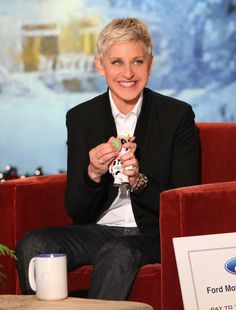 Ellen loves her Cow Poppers from Walgreens!