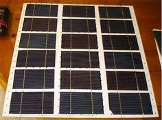 Solar Panel Tutorials | DIY solar panels with damaged solar cells. | Off the Grid Ideas from PioneerSettler.com #OfftheGridIdeas #PioneerSettler