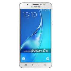 "Samsung Galaxy J7 5.5"" Unlocked Smartphone with 13MP Camera - White"
