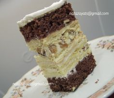 "Торт"" Хрещатий яр"" » Кулінарний форум Дрімфуд Pastry And Bakery, Tiramisu, Recipies, Good Food, Food And Drink, Cooking Recipes, Baking, Cake, Ethnic Recipes"