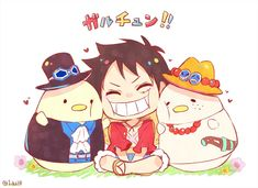 Let it become true One Piece Funny, One Piece Comic, One Piece Fanart, One Piece World, One Piece 1, One Piece Manga, One Piece Pictures, Cute Pictures, Ace Sabo Luffy