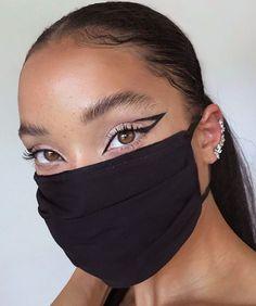 Edgy Makeup, Makeup Eye Looks, Black Girl Makeup, Dark Skin Makeup, Cute Makeup, Girls Makeup, Gorgeous Makeup, Pretty Makeup, Black Makeup Looks