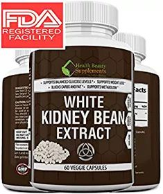 * EXTREME WHITE KIDNEY BEAN * 2X Absorption 2X Potency - Fast Acting Weight Loss Aid - Carb Blocker Slim Formula – Lose Weight FAST – For Women & Men -100% Natural Weight Loss Formula