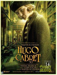Chloë Grace Moretz   Hugo Cabret   Movie Poster & Picture   #ChloeGraceMoretz #ChloeGMOfficial #HugoCabret #MoviePicture