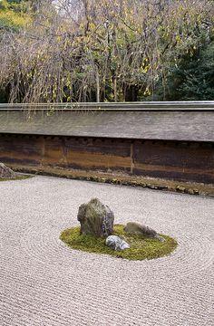 Ryōan-ji Zen Garden - Kyoto, Japan