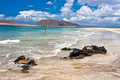 Playa Bajo el Risco de Famara, Lanzarote                              …