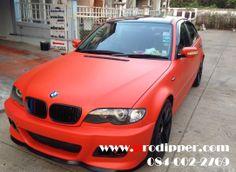 Car - BMW E46 Plasti Dip - Orange 2 Gallon Spray Gun 2.0 mm. Earlex HV 3500