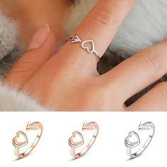 Bff Rings, Sister Rings, Cute Rings, Jewelry Model, Cute Jewelry, Jewelry Rings, Diamond Jewelry, Jewellery, Best Friend Rings