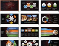 Computer Security PowerPoint Free PowerPoint Templates Pinterest