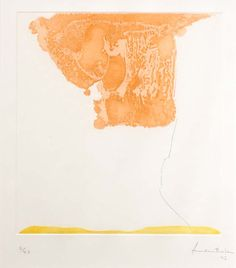 vjeranski:    Helen FrankenthalerPRANZO ITALIANO, 1973Sugar-lift etching and aquatint19.75 x 13.75 inchesEdition of 43