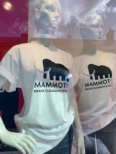 Coes Mammoth Clearance Event - campaign — WHAT associates Ltd Window Graphics, Campaign, Image, Women, Women's