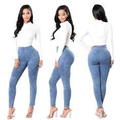 Blue Stripped Jeans