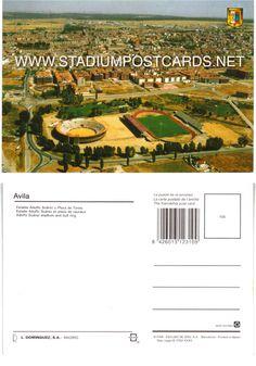 1 25 code spa 003 barcelona stadium postcard for Code postal salon