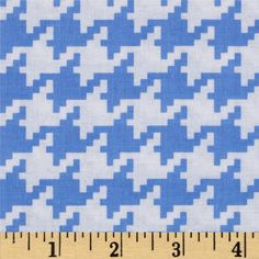Michael Miller Everyday Houndstooth Boy | 100% Cotton | Width: 44""