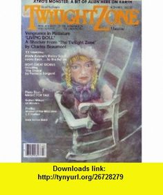 Rod Serlings The Twilight Zone Magazine - December 1982 (Vol. 2, #10) Charles Beaumont, Pamela Sargent, Ridley Scott, T. E. D. Klein ,   ,  , ASIN: B0018OD78Y , tutorials , pdf , ebook , torrent , downloads , rapidshare , filesonic , hotfile , megaupload , fileserve