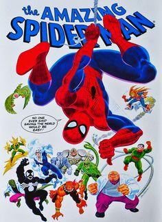 #Spiderman #Comic #Art.