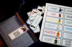 Lego Storage Labels (Free Download)