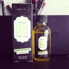 I just tried this #hydrating #faceoil by #Perfectlyposh called #lovemedew with #oliveoil and #arganoil to #moisturize #pomegranate and #rosehipoil to #brighten skin and #fragrance #jasmine #sandalwood #vanilla I like it as an overnight product for #face #neck and #decolletage areas. I also think this is a nice oil for the treatment room for estheticians #vegan #naturalskincare #madeinusa #estheticianlife #esthetician #essentialoils