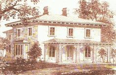 The Robert Dodge Mansion in Georgetown, Washington D.C., still stands but has been significantly altered. It was designed by Andrew Jackson Downing.