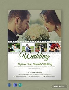 Instantly Download Free Wedding Photography Flyer Template, Sample & Example in Microsoft Word (DOC), Adobe Photoshop (PSD), Apple Pages, Microsoft Publisher, Adobe Illustrator (AI) Format. Available in (US) 8.5x11 inches + Bleed. Quickly Customize. Easily Editable & Printable.
