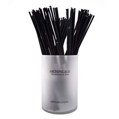 Archipelago Botanicals Black Diffuser Reeds | Rain Collection - Sold in bundles of ten.