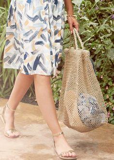 Hemp Shopping Bag in Natural Hemp, Shopping Bag, Burlap, Cover Up, Reusable Tote Bags, Natural, Free, Fashion, Moda