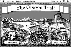 """YOU HAVE DIED OF DYSENTERY"" #TheOregonTrail #90s #computergames"