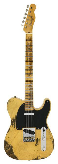 Fender Custom Shop 1953 Telecaster Relic Butterscotch Blonde