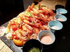 Restaurant, Shrimp, Facebook, Meat, Food, Diner Restaurant, Essen, Meals, Restaurants
