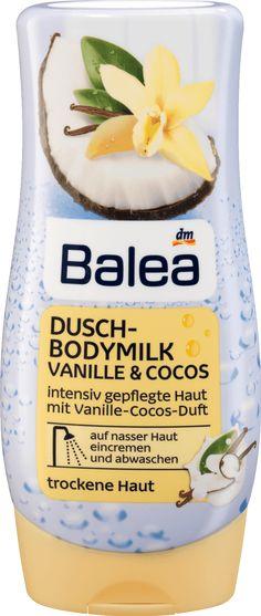 Dusch-Bodymilk mit Vanille&Cocos intensiv gepflegte Haut mit Vanille-Cocos-Duft