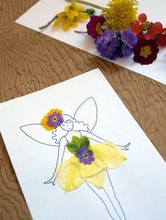 Flower Fairy Fashions : Artful Adventures