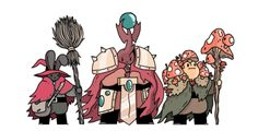 Timecowboy! • Here are some more fantasy pals that i've slowly...