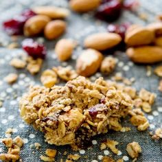 These granola bars gone rogue are so tasty you'll forgive them for crumbling into bites! (vegan   GF)