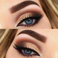A Gorgeous Sunset & 15 Magical Eye Makeup Ideas; The post 15 Magical Eye Makeup Ideas appeared first on Suggestions. Cute Makeup, Prom Makeup, Gorgeous Makeup, Pretty Makeup, Glamorous Makeup, Casual Eye Makeup, Cheap Makeup, Bride Makeup, Glitter Makeup