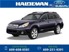 2013 Subaru Outback 2.5i Premium 40k miles $20,201 40589 miles 609-608-0581 Transmission: Automatic  #Subaru #Outback #used #cars #HaldemanFord #HamiltonSquare #NJ #tapcars