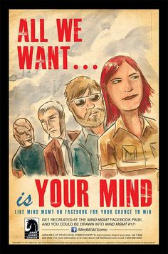 Get Drawn into an Issue of Matt Kindt's MIND MGMT - Comic Vine