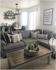 73 cozy farmhouse living room decor #cozy #farmhouse #living #room #decor Please Click Link To Find More Reference,,, ENJOY!!