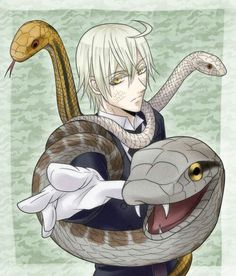 Snake Black Butler! Can't wait till he's introduced in the Circus arc in the new season :D
