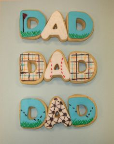 Fathers Day Cookies,